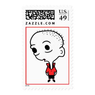 Big Head Stamp