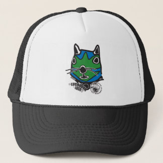 Big Head Tito from Mexican Wrestling Squirrels Trucker Hat