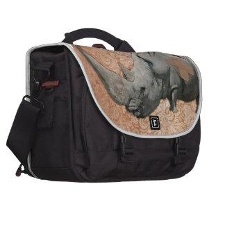 Big Headed Rhino Bag For Laptop