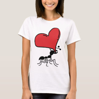 Big Heart Ant, Lots of Love Ant T-Shirt