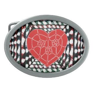 Big Heart Belt Buckle