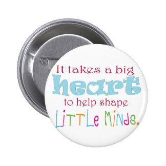 Big Heart: Counselor:Mentor:Teacher Button