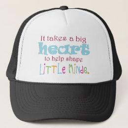 Big Heart: Counselor:Mentor:Teacher Trucker Hat