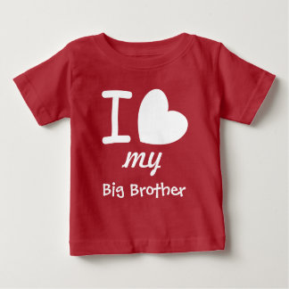 Big Heart I Love My BIG BROTHER A07 Baby T-Shirt