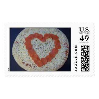 big heart pizza postage