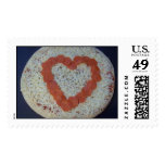 big heart pizza postage stamps