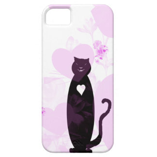 Big Hearted Cat iPhone SE/5/5s Case