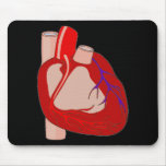Big Hearted Mouse Pad