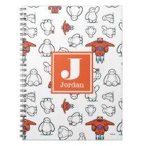 Big Hero 6 | Baymax Suit Pattern Spiral Notebook