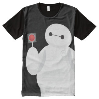 Big Hero 6 | Baymax with Lollipop All-Over-Print T-Shirt