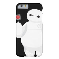 Big Hero 6 | Baymax with Lollipop Barely There iPhone 6 Case at Zazzle