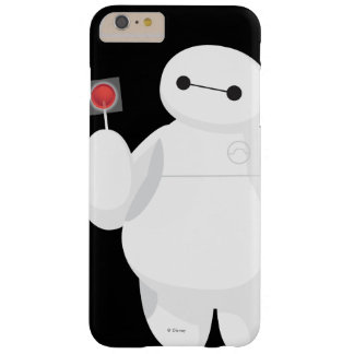 Big Hero 6 | Baymax with Lollipop Barely There iPhone 6 Plus Case