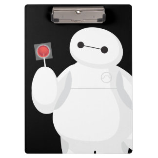 Big Hero 6 | Baymax with Lollipop Clipboard