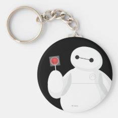 Big Hero 6 | Baymax with Lollipop Keychain at Zazzle