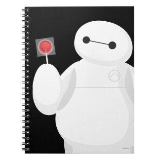 Big Hero 6 | Baymax with Lollipop Spiral Notebook