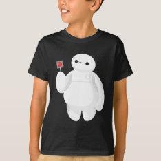 Big Hero 6 | Baymax with Lollipop T-Shirt at Zazzle