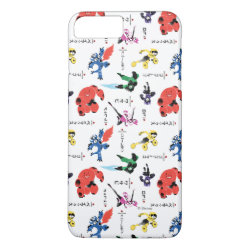 Case-Mate Tough iPhone 7 Plus Case with Big Hero 6 Stylized Pattern design