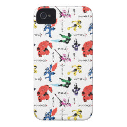 Case-Mate iPhone 4 Barely There Universal Case with Big Hero 6 Stylized Pattern design