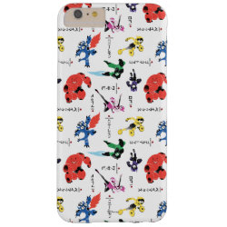 Case-Mate Barely There iPhone 6 Plus Case with Big Hero 6 Stylized Pattern design