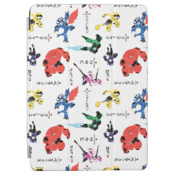iPad Air Cover with Big Hero 6 Stylized Pattern design