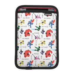 iPad Mini Sleeve with Big Hero 6 Stylized Pattern design