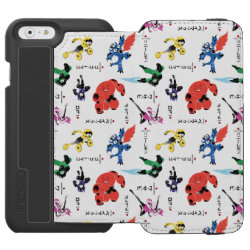 Incipio Watson™ iPhone 6 Wallet Case with Big Hero 6 Stylized Pattern design
