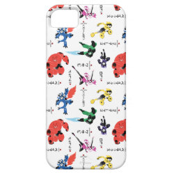 Case-Mate Vibe iPhone 5 Case with Big Hero 6 Stylized Pattern design