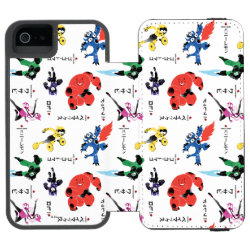 Incipio Watson™ iPhone 5/5s Wallet Case with Big Hero 6 Stylized Pattern design