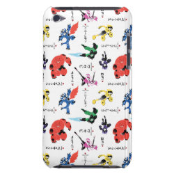 Case-Mate iPod Touch Barely There Case with Big Hero 6 Stylized Pattern design