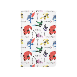 Pocket Journal with Big Hero 6 Stylized Pattern design