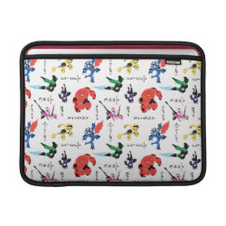 Macbook Air Sleeve with Big Hero 6 Stylized Pattern design