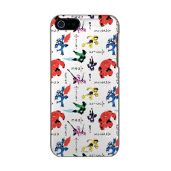 Incipio Feather Shine iPhone 5/5s Case with Big Hero 6 Stylized Pattern design