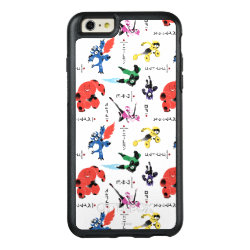 OtterBox Symmetry iPhone 6/6s Plus Case with Big Hero 6 Stylized Pattern design