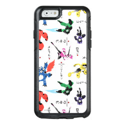 OtterBox Symmetry iPhone 6/6s Case with Big Hero 6 Stylized Pattern design