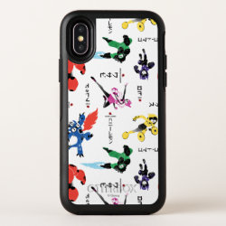 OtterBox Apple iPhone X Symmetry Case with Big Hero 6 Stylized Pattern design