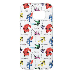 Case-Mate Barely There Samsung Galaxy S7 Case with Big Hero 6 Stylized Pattern design