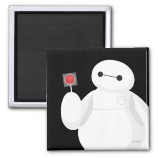 Big Hero 6 Lollipop Sign Fridge Magnets