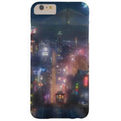 Case-Mate Barely There iPhone 6 Plus Case with San Fransokyo Skyline Painting from Big Hero 6 design