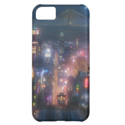 San Fransokyo Skyline Painting from Big Hero 6 Case-Mate Barely There iPhone 5C Case