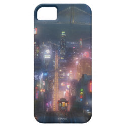 Case-Mate Vibe iPhone 5 Case with San Fransokyo Skyline Painting from Big Hero 6 design