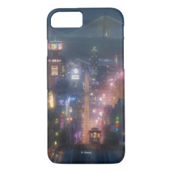 Case-Mate Barely There iPhone 7 Case with San Fransokyo Skyline Painting from Big Hero 6 design