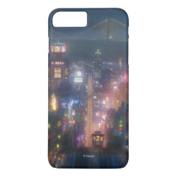 Case-Mate Tough iPhone 7 Plus Case with San Fransokyo Skyline Painting from Big Hero 6 design