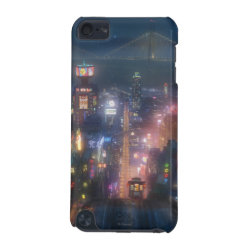 Case-Mate Barely There 5th Generation iPod Touch Case with San Fransokyo Skyline Painting from Big Hero 6 design