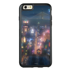 OtterBox Symmetry iPhone 6/6s Plus Case with San Fransokyo Skyline Painting from Big Hero 6 design