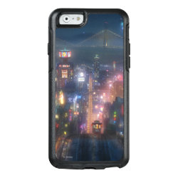 OtterBox Symmetry iPhone 6/6s Case with San Fransokyo Skyline Painting from Big Hero 6 design