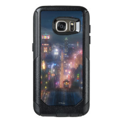 OtterBox Commuter Samsung Galaxy S7 Case with San Fransokyo Skyline Painting from Big Hero 6 design