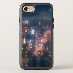 OtterBox Apple iPhone 7 Symmetry Case with San Fransokyo Skyline Painting from Big Hero 6 design