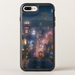 OtterBox Apple iPhone 7 Plus Symmetry Case with San Fransokyo Skyline Painting from Big Hero 6 design