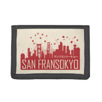 Big Hero 6   San Fransokyo Trifold Wallet
