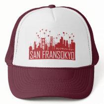 Big Hero 6   San Fransokyo Trucker Hat